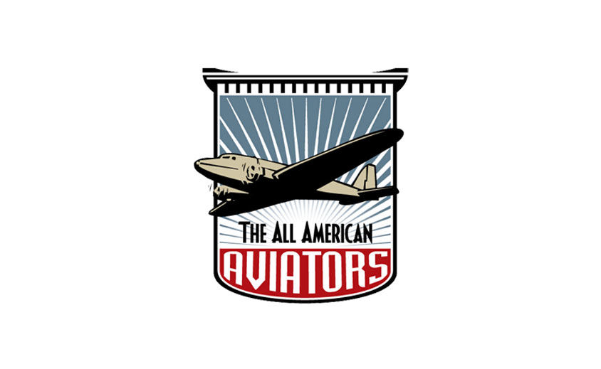 Logo Design: All American Aviators