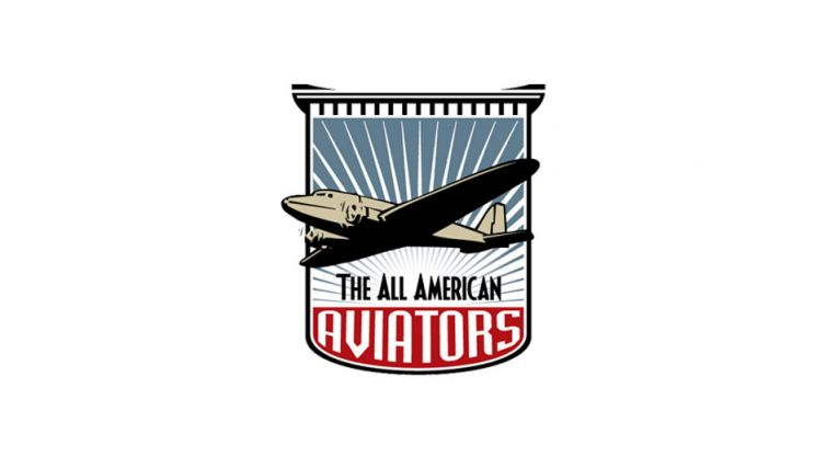 Logo Design: All American Aviators