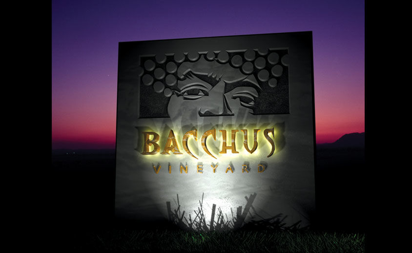 Logo Design: Bacchus Vineyard