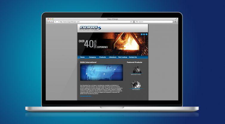 WEBSITE DESIGN AND DEVELOPMENT: DURA INTERNATIONAL