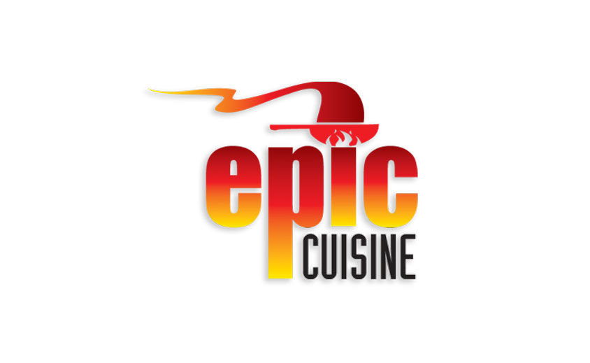 Logo Design: Epic Cuisine Catering