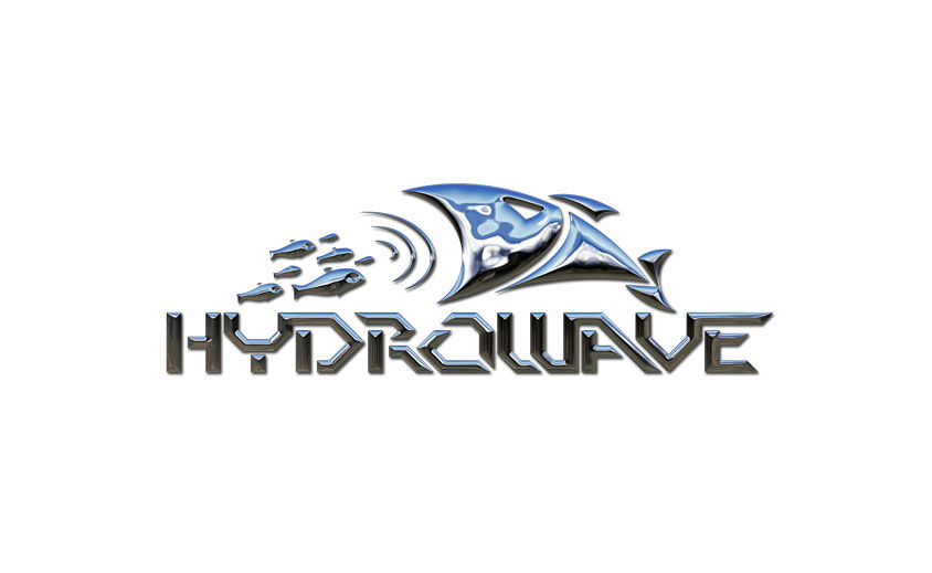 Logo Design: Hydrowave Fishing Electronics