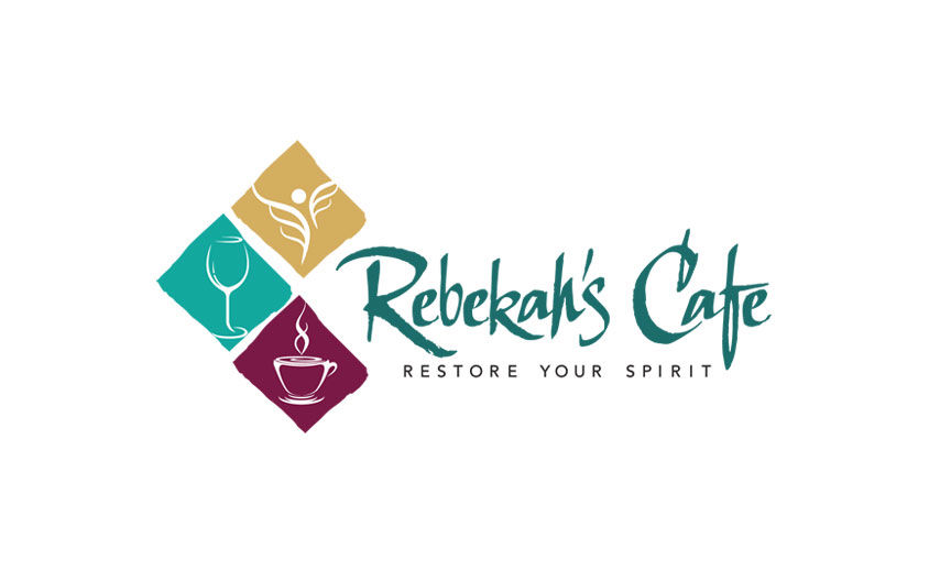 Logo Design: Rebekah's Cafe
