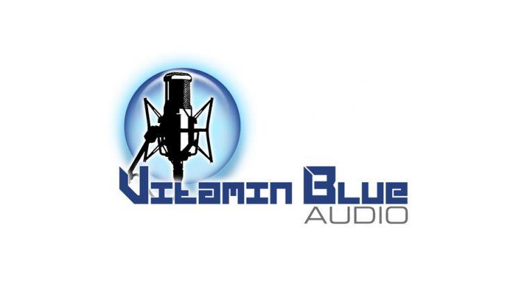 Logo Design: Vitamin Blue Audio