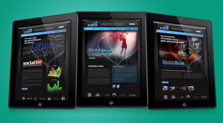 Website Design and Development: MediaMax Media Solutions