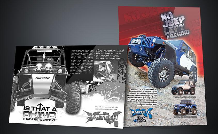 Print Advertising: Fabtech Motorsports