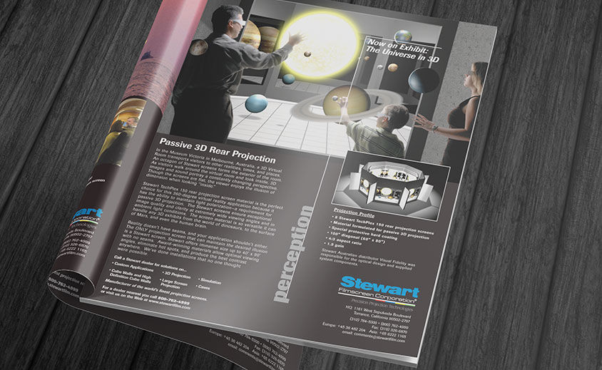 Print Advertising: Stewart Filmscreen