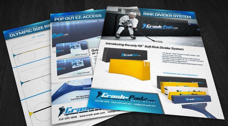 Print Flyer Design: Crash-Padz