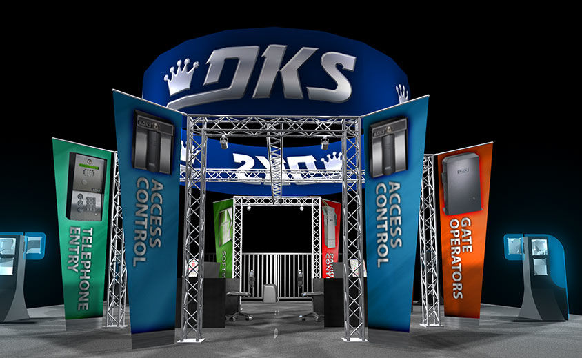 Trade Show Booth Design: DKS 2009