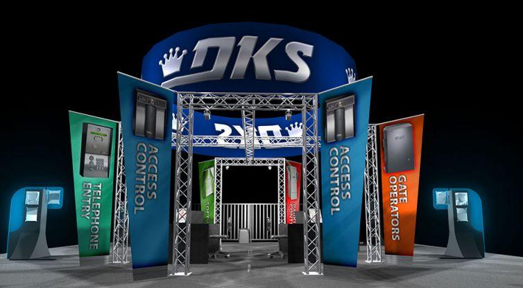Trade Show Booth Design: DKS 2009