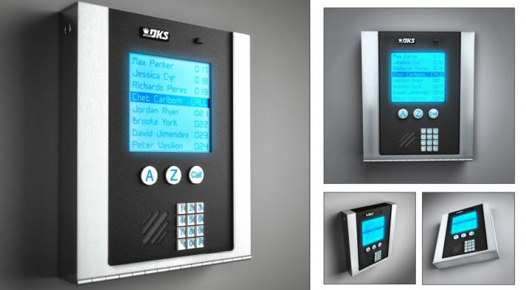 Industrial Design: DKS Telephone Entry Systems