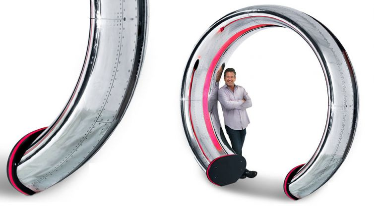 Industrial Design: MotoArt Dual Cowling Entryway Arch