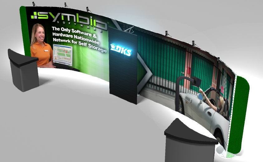 Trade Show Booth Design: DKS – Symbio Software