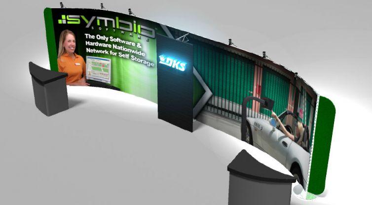 Trade Show Booth Design: DKS – Symbio Software