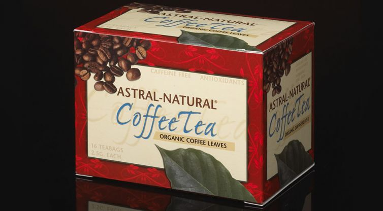 Package Design: Astral-Natural CoffeeTea