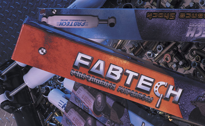 Package Design: Fabtech Motorsports