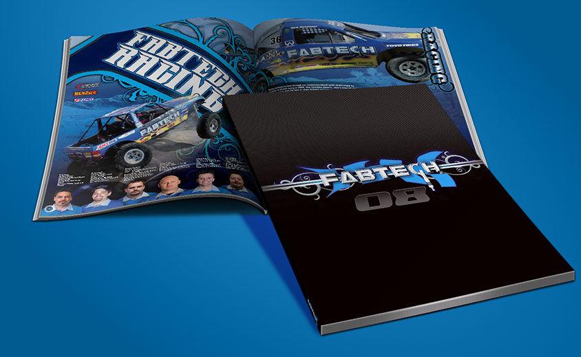 Print Catalog Design: Fabtech Motorsports