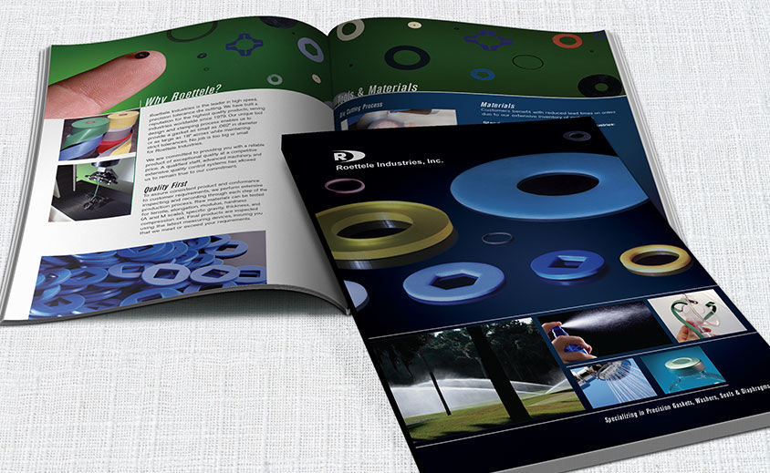 Print Catalog Design: Roettele Industries