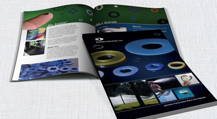 Print Catalog Design: Roettele Industries