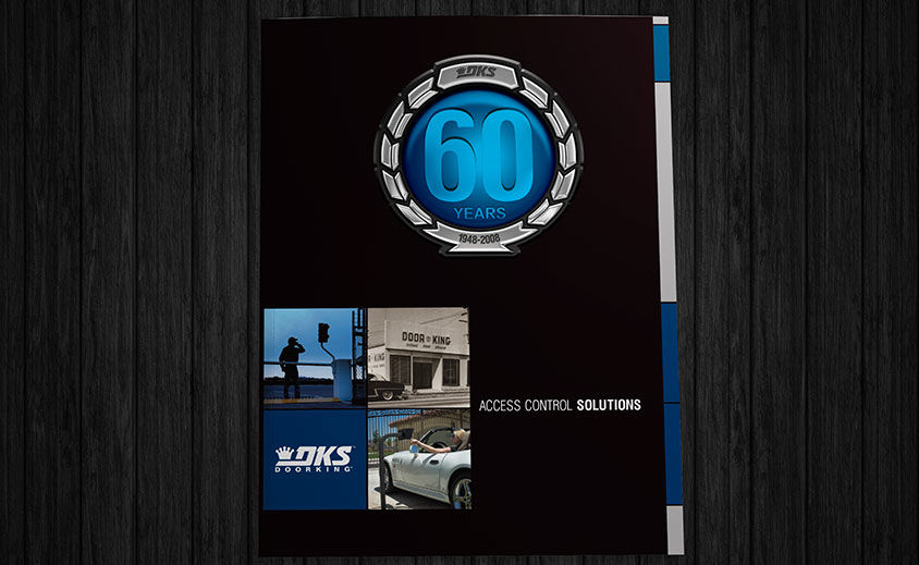 Print Catalog Design: DKS Doorking