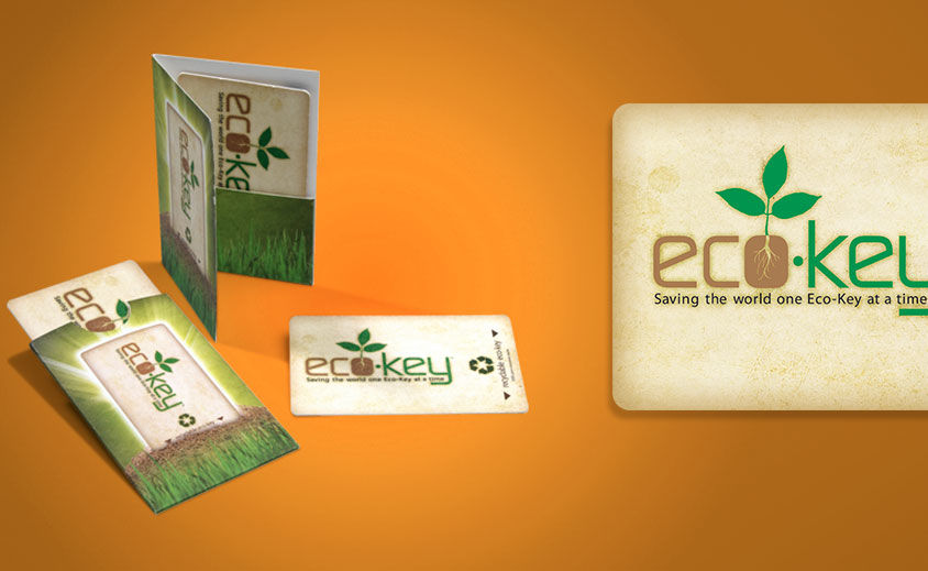 Print Design: Eco-Key