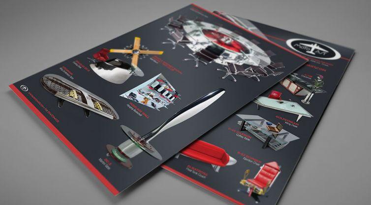 Print Flyer Design: MotoArt