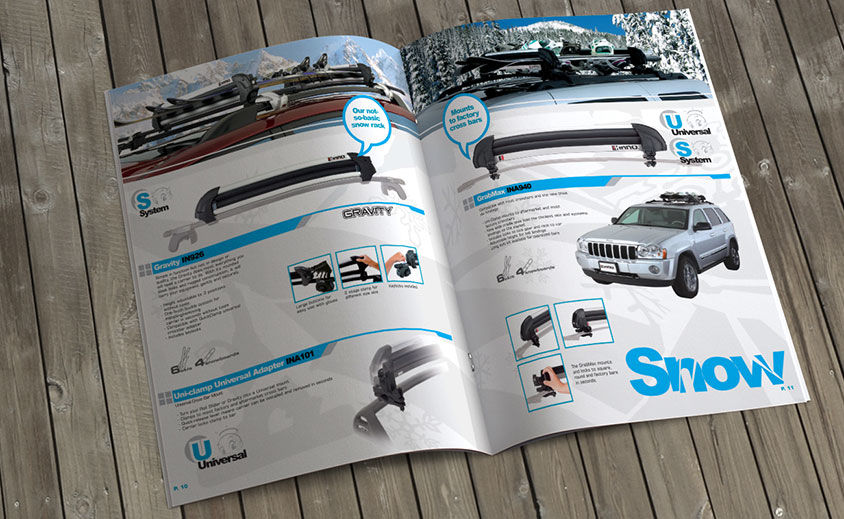 Catalog Design: Inno Racks