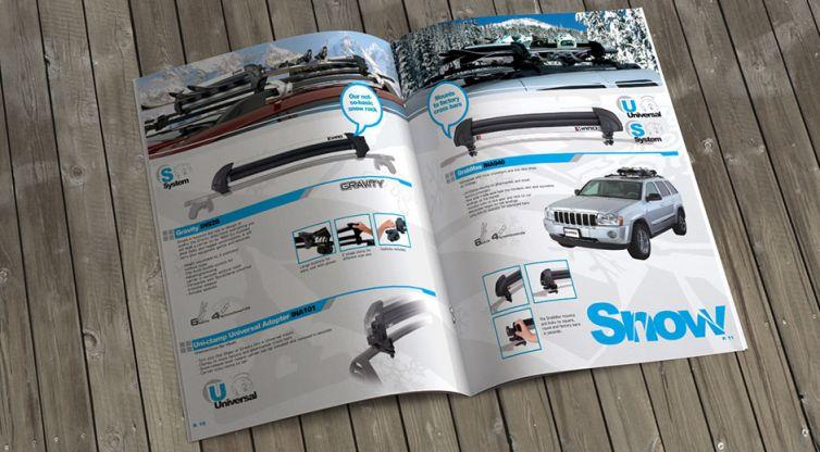 Catalog Design: Inno Racks
