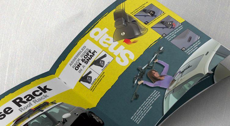 Print Catalog Design: Topline Automotive Inc.