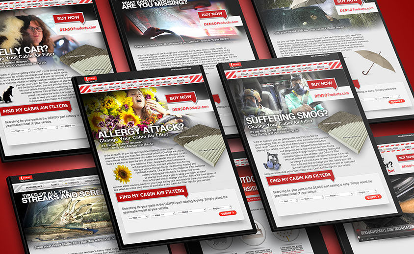 Landing Pages: DENSO Auto Parts
