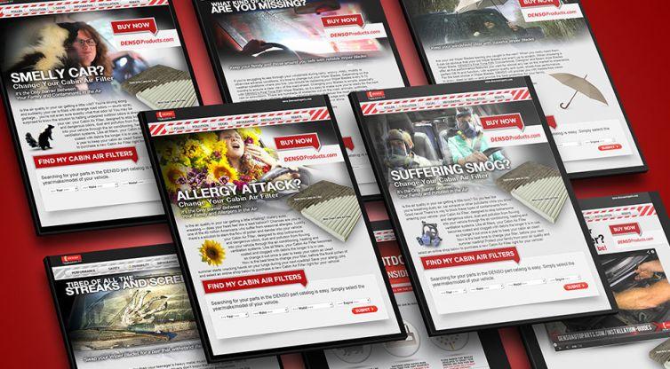 Landing Pages: DENSO Auto Parts