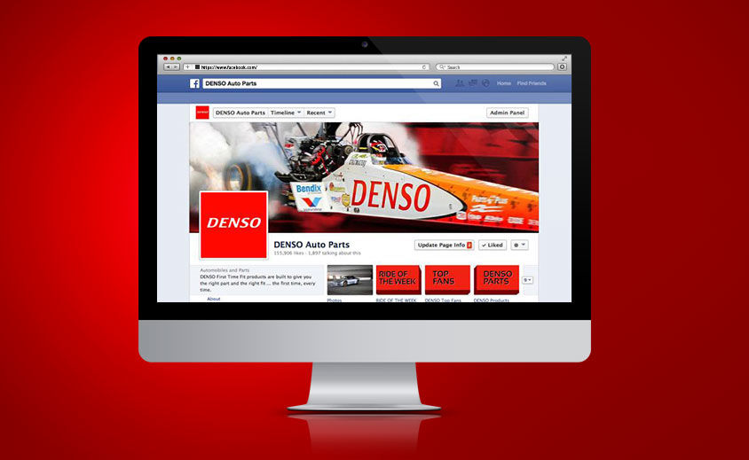 Social Media Marketing: DENSO Auto Parts