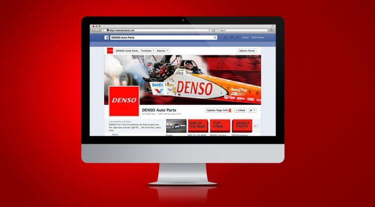 Social Media Marketing: DENSO Auto Parts