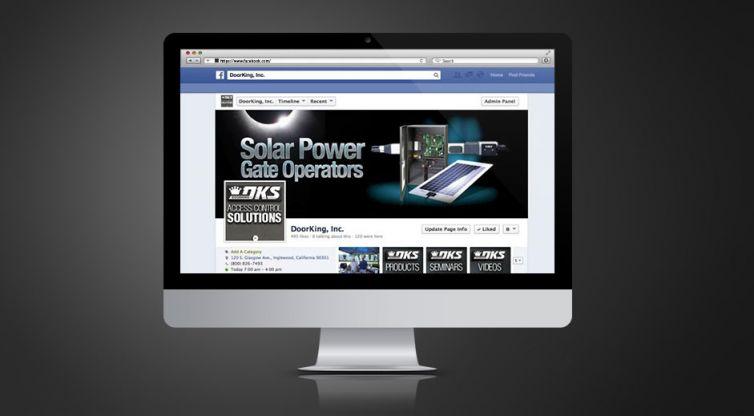 Social Media Marketing: DKS Doorking