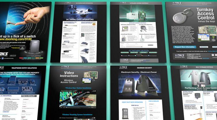 Landing Pages: DKS Doorking
