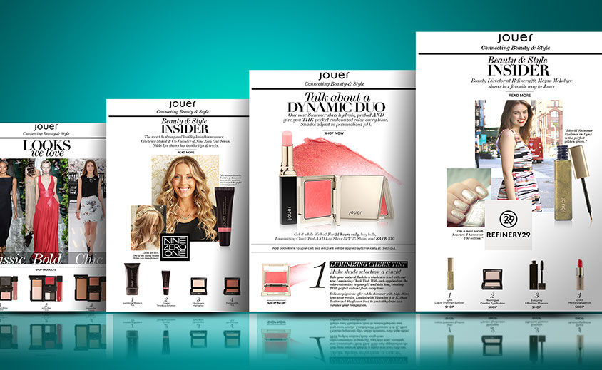 Email Marketing: Jouer Cosmetics