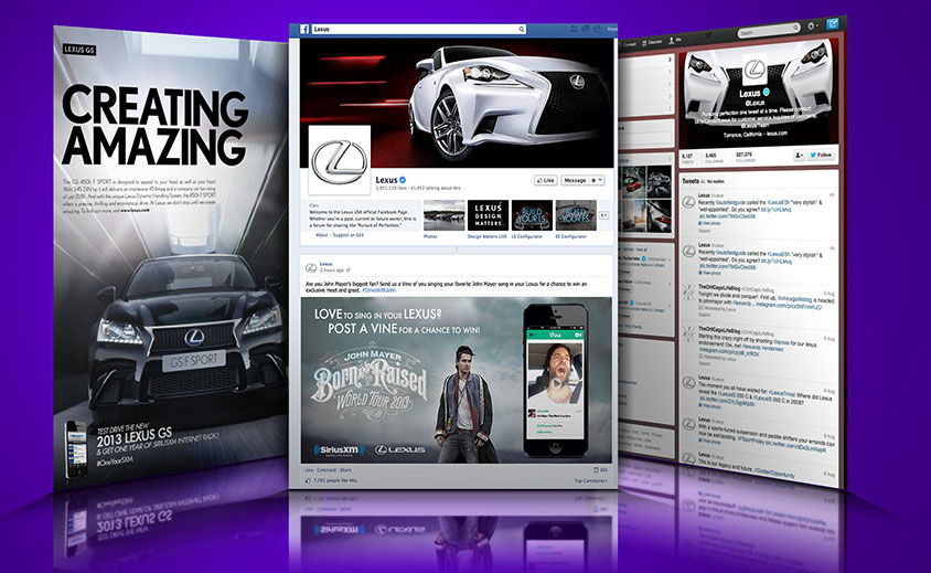 Social Media Marketing: SiriusXM and Lexus