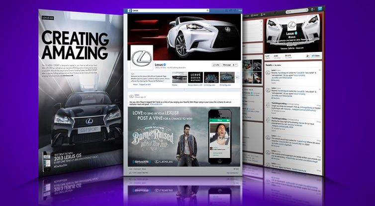 Social Media Marketing: SiriusXM and Lexus
