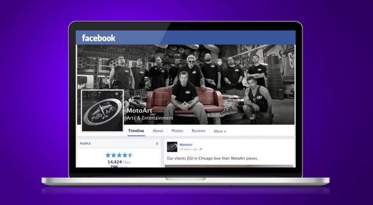 Social Media Marketing: MotoArt