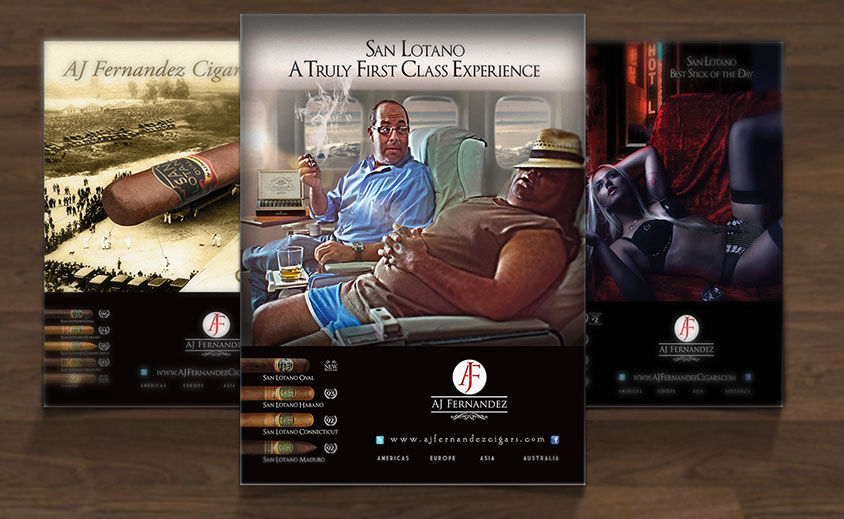 Print Advertising: AJ Fernandez Cigars