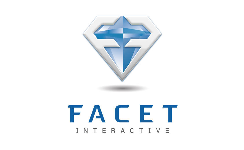 Logo Design: Facet Interactive
