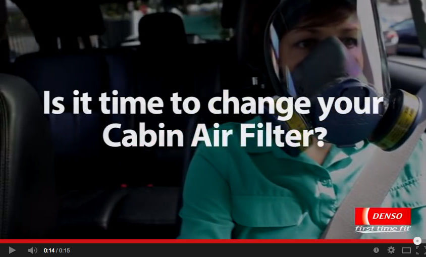 "Product Line Video: DENSO Auto Parts – ""Is It Time to Change Your Cabin Air Filter?"""