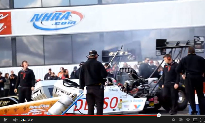 "Event Video: DENSO Auto Parts – ""Clay Millican NHRA Winternationals Finals 2012"""