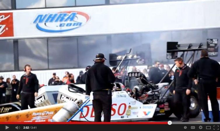 "Event Video: DENSO Auto Parts – ""Clay Millican NHRA Winternationals Finals 2012"""