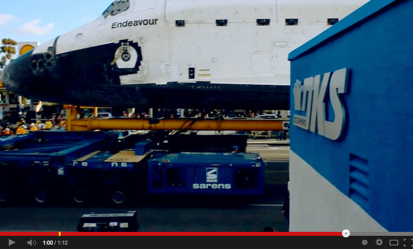 Event Video: DKS & the Space Shuttle Endeavour in Los Angles