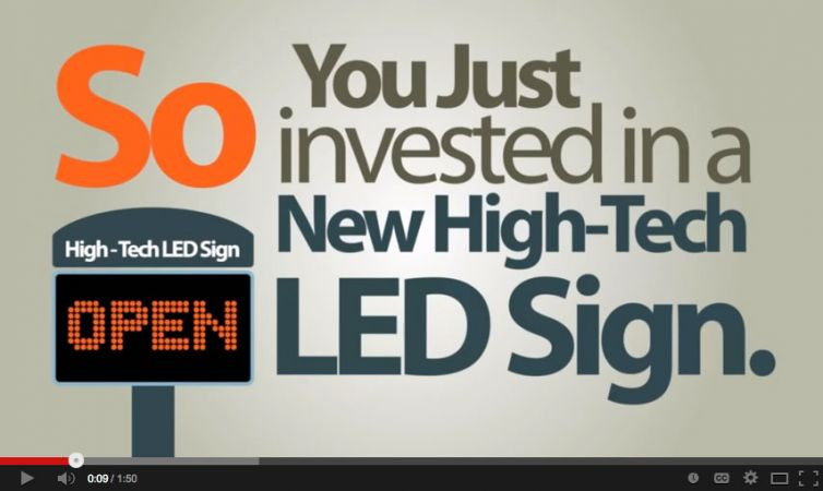 """Brand Video: LED Sign Studio – """"What We Do"""""""