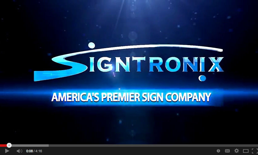 Brand Video: Signtronix Sign Company