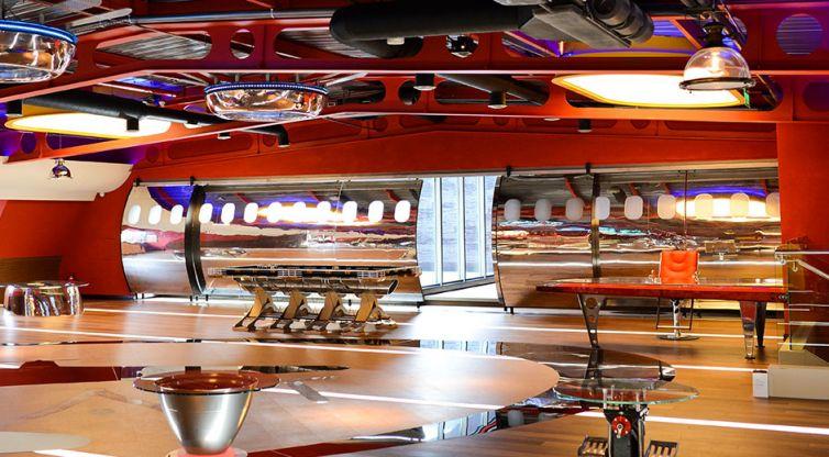 Industrial Design and Interior Design: Prestige Auto Group Showroom