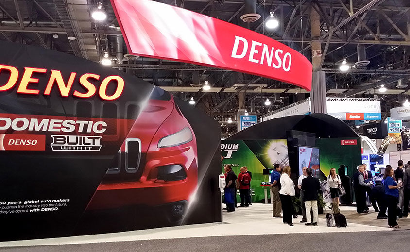 Trade Show Booth: DENSO Auto Parts 2014