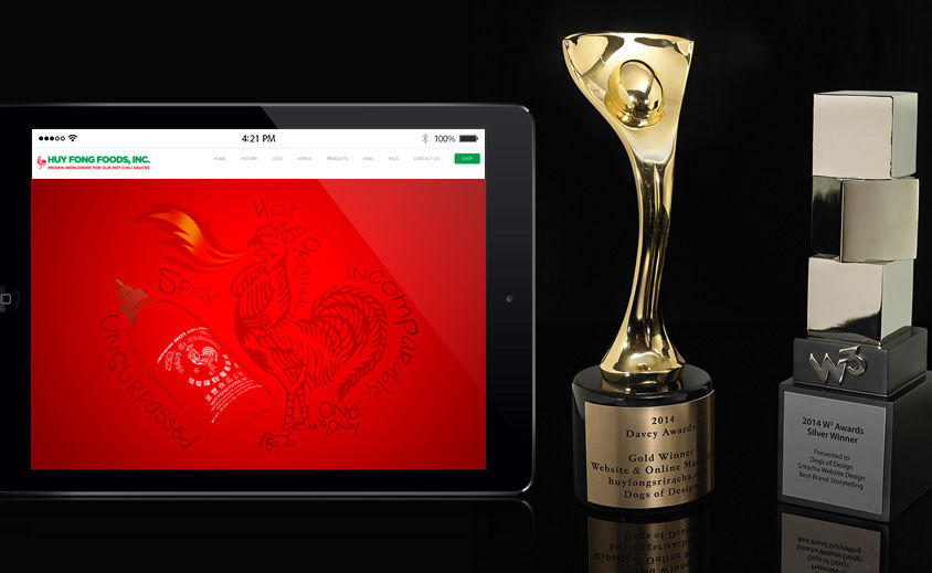 Website Design and Development: Huy Fong Foods, Inc. – Sriracha Hot Sauce